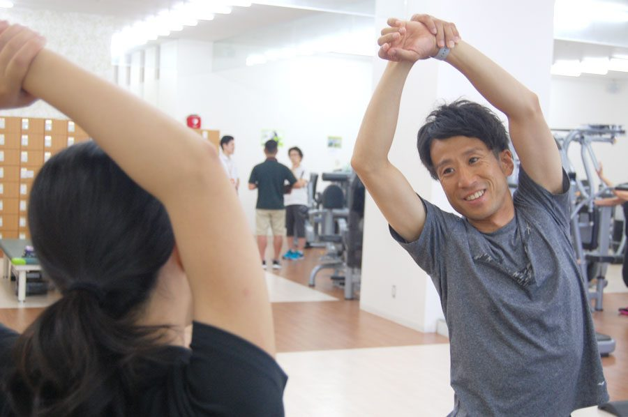 森井 真史マンツーマントレーニング